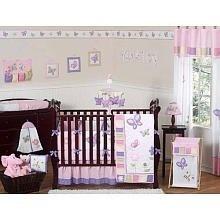 Butterfly Pink and Purple 9 Pc Crib Bedding Set By Jojo Designs by JoJo Designs, http://www.amazon.com/gp/product/B0029083YE/ref=cm_sw_r_pi_alp_zYxgqb1DY18TQ