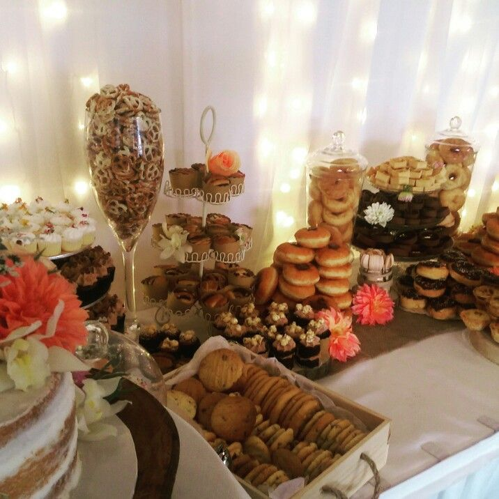Dessert Bar & cake station, perfect for that special Ocassion