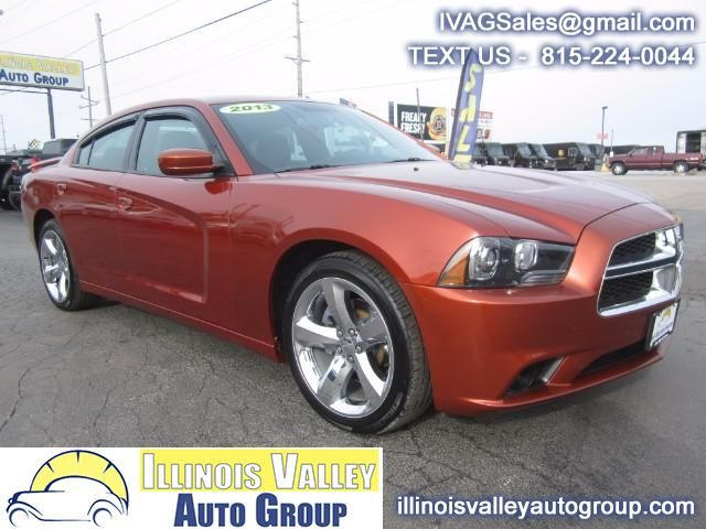 Used 2013 Dodge Charger R/T for Sale in Peru IL 61354 Illinois Valley Auto Group