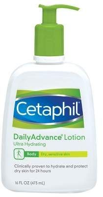 Cetaphil Daily Advance Ultra Hydrating Lotion Unscented – 16oz