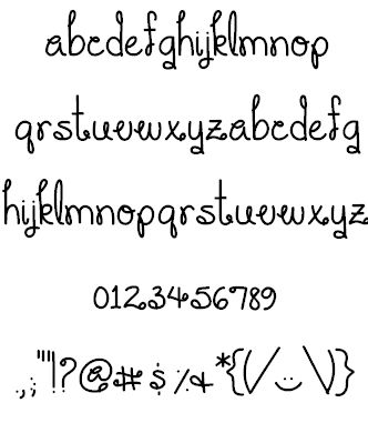 You Make Me Smile font by ByTheButterfly - FontSpace. Fancy and yet simple font!