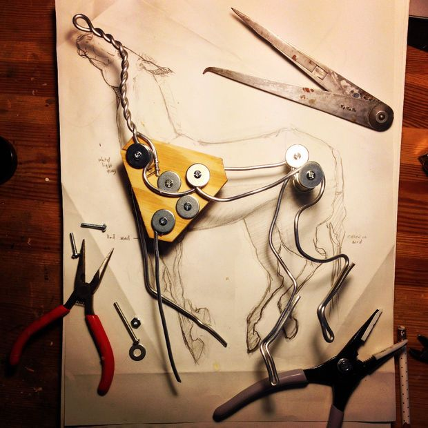 fantastic steps to creating an armature for sculptures