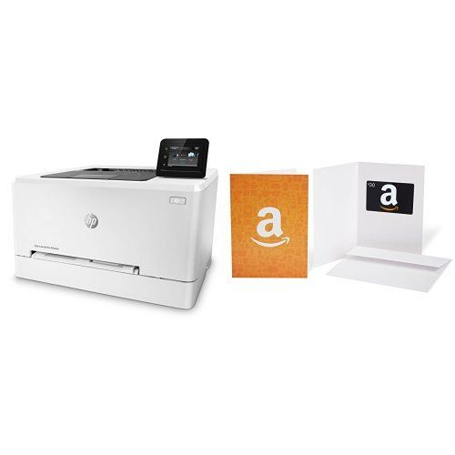 HP LaserJet Pro M254dw Wireless Color Laser Printer and Amazon.com Gift Card - HP LaserJet Pro M254dw Wireless Color Laser Printer and Amazon.com Gift Card