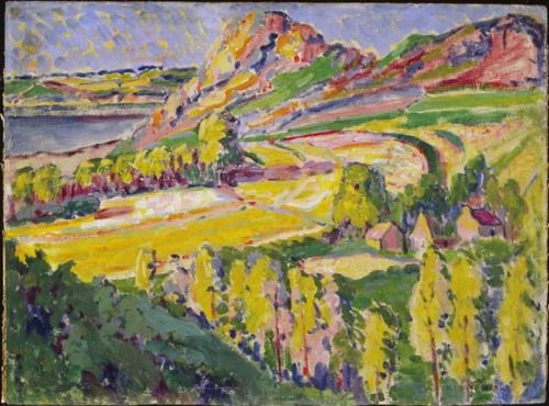 Autumn in France (1911) by Emily Carr