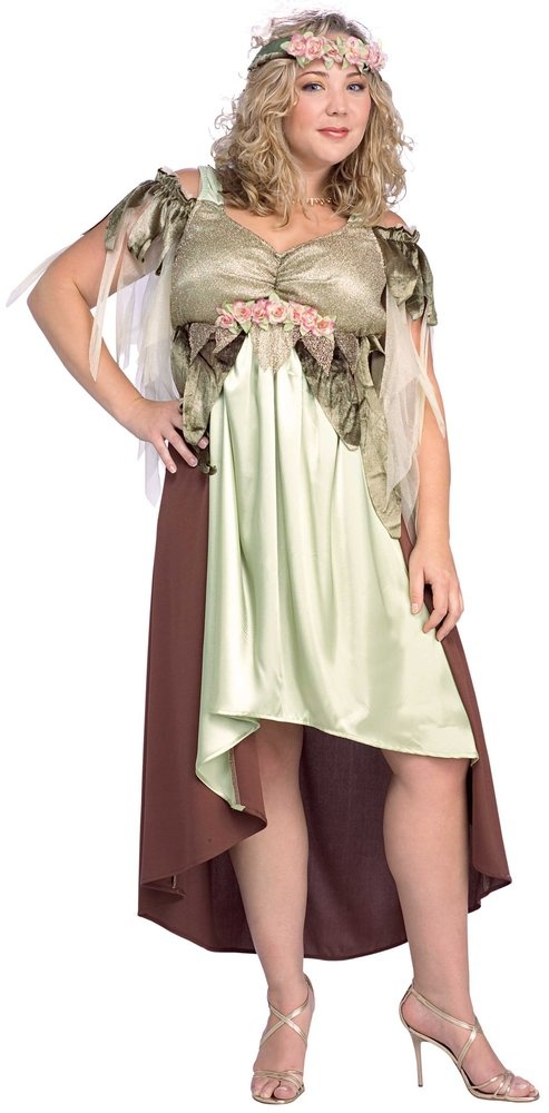 Mother Nature Plus Size Fairy Costume