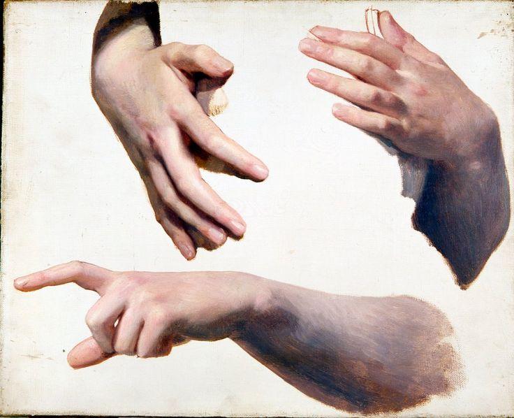 Bouguereau hand studies