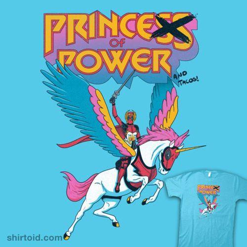 Prince of Power | Shirtoid #alexpawlicki #apsketches #comic #comics #deadpool #film #marvelcomics #movie #shera