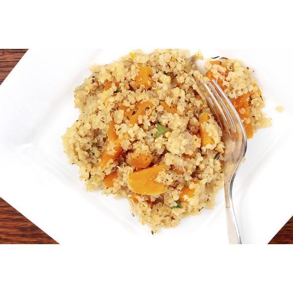Risotto de quinoa y calabaza