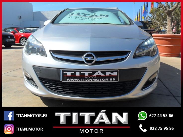 En Titán Motor tenemos para tí el OPEL Astra 1.7CDTi Excellence  📆Año: 2013 🛣️Kilometraje: 74.000 Km ⛽Combustible: Diesel 🔸Cambio: Manual 🔸Potencia: 110 CV 💶Precio: 10.900 EUR  Para saber más entra en estos enlaces:  http://www.titanmotor.es/vehiculo.php?id=116  https://www.autocasion.com/coches-segunda-mano/opel-astra-ocasion/astra-1-7cdti-excellence-1-ref1895343  Contáctanos 📱627 44 55 66 📞928 75 95 95