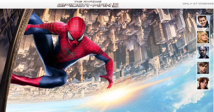 İnanılmaz Örümcek Adam 2 geliyor! Bana göre ilk film, izlediğimiz diğer Örümcek Adam serisinden çok daha iyiydi, umarım bu da aynı keyfi verir.   The Amazing Spider-Man - İnanılmaz Örümcek Adam 2 Geliyor! - Sakarpiyon foto-günce