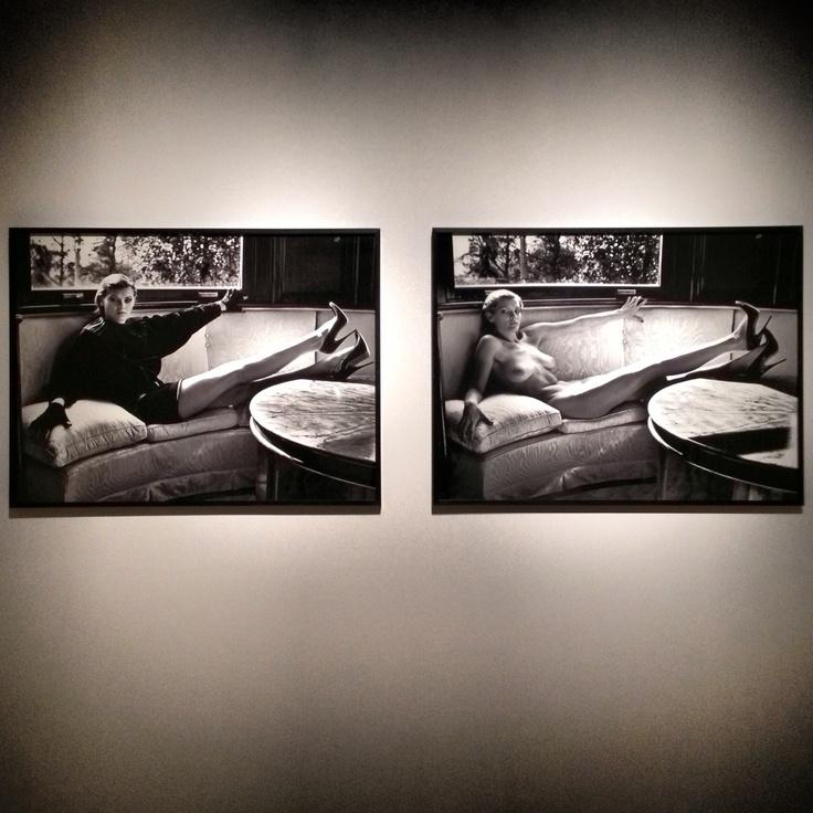 Helmut Newton #exhibit #rome