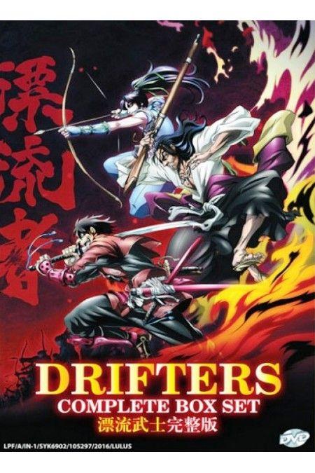Drifters : Battle In A Brand New World War Season 1 Vol.1-12End Anime DVD