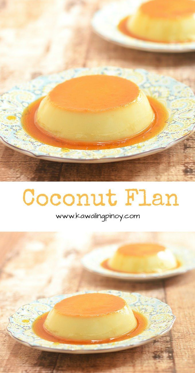 Rich, silky-smooth and with a hint of coconut flavor, this coconut flan are a delicious sweet treat that's sure to be a family favorite