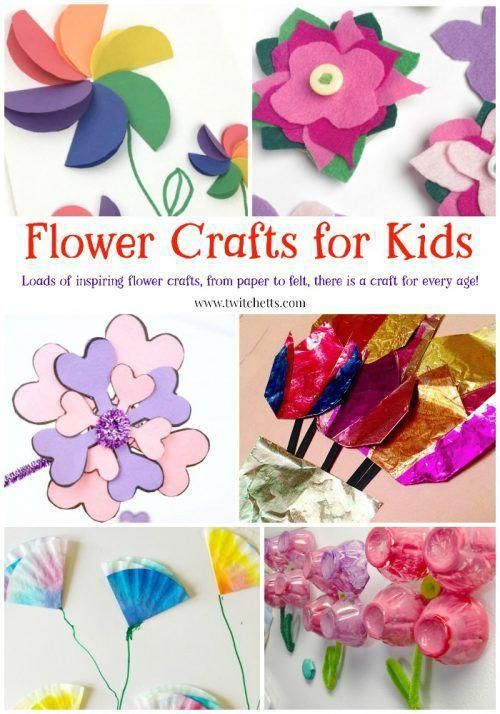 Paper Flowers Flower Crafts That Kids Can Make Easy Arts And