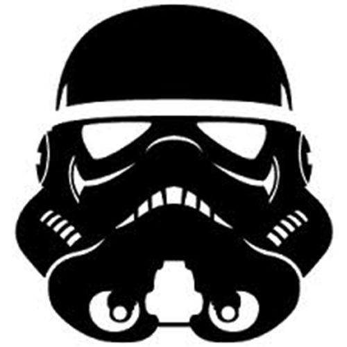 Star Wars Stormtrooper Die Cut Vinyl Decal PV775 for Windows, Vehicle Windows, Vehicle Body Surfaces or just about any surface that is smooth and clean!