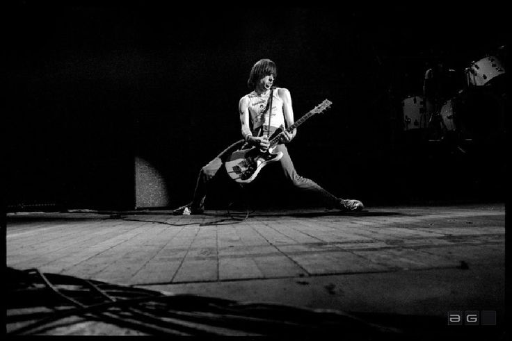Photographer: David Corio Location: Hammersmith Odeon, London Edition: 50 Date: 1980 I think this picture captured the persona of Johnny Ramone – requisite Ramones tee-shirt, guitar slung impossibly low, drainpipe jeans plastered on skinny long legs spread out wide and all of this capped by a contemptuous sneer on his face. Johnny Ramone's super-fast 'buzzsaw' guitar had a huge impact on the punk scene and he could make a two-minute song sound like an epic. The Ramones were synonymous with…