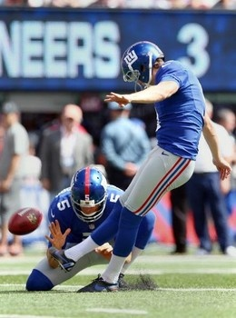 New York Giants kicker Lawrence Tynes was named the NFC Special Teams Player of the Week, the team announced today. Click to read more.