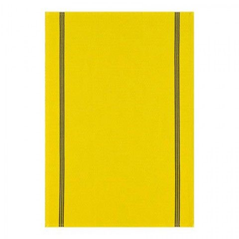 French Vintage Sulfur Yellow Tea Towel 28 x 20 in | Gracious Style