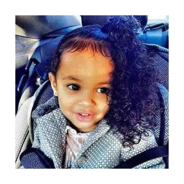 Beautiful mixed curly hair baby ❤ liked on Polyvore featuring kids