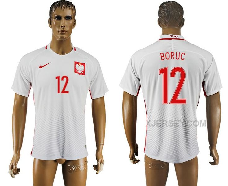 http://www.xjersey.com/poland-12-boruc-home-uefa-euro-2016-soccer-thailand-jersey.html Only$35.00 POLAND 12 BORUC HOME UEFA EURO 2016 SOCCER THAILAND JERSEY Free Shipping!
