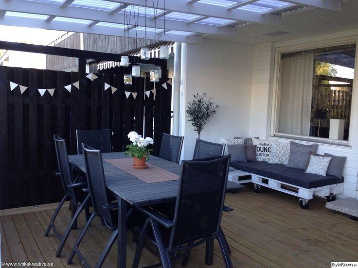 altan uteplats lastpall lastpallar lastpallssoffa soffa av lastpallar altanm bler. Black Bedroom Furniture Sets. Home Design Ideas