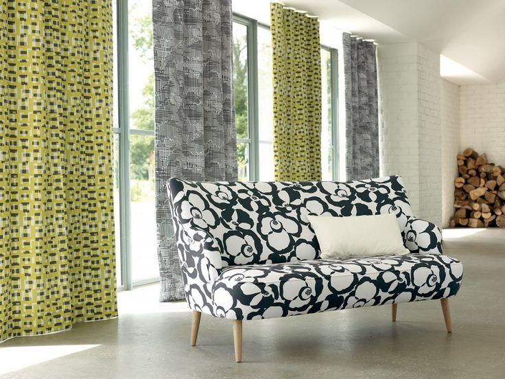 rideaux berg et ida quince villa nova marie claire maison rideaux et voilages pinterest. Black Bedroom Furniture Sets. Home Design Ideas
