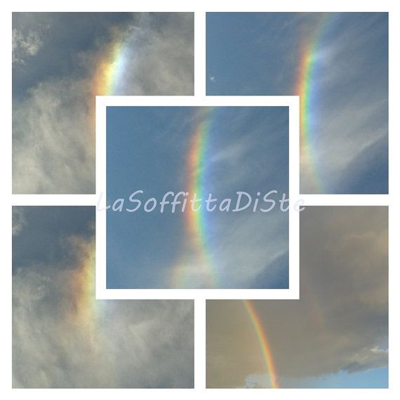 rainbow sky clouds instant download background blog gay pictures photo digital paper collage scrapbook wall art home decor lasoffittadiste
