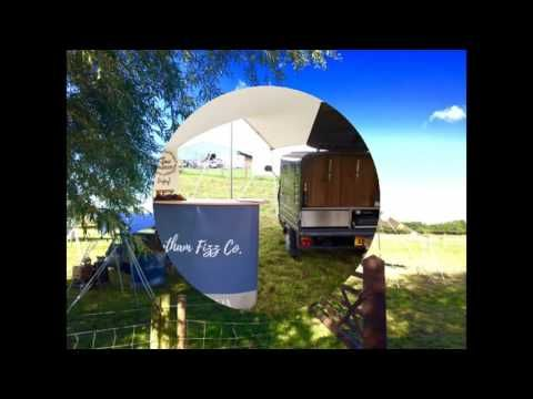The Prosecco Van at Willow Moss Farm Wedding Fayre