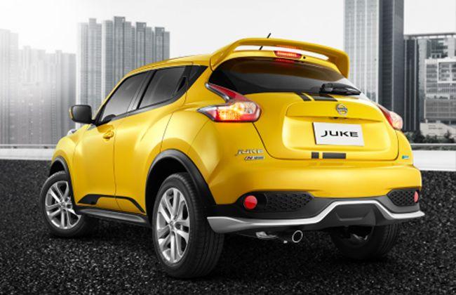 Nissan Juke N-Sport Rear