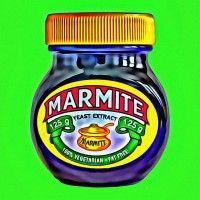 Marmite! As ons siek was het mamma altyd 'n marmite-roosterbroodjie vir ons in die bed gebring.