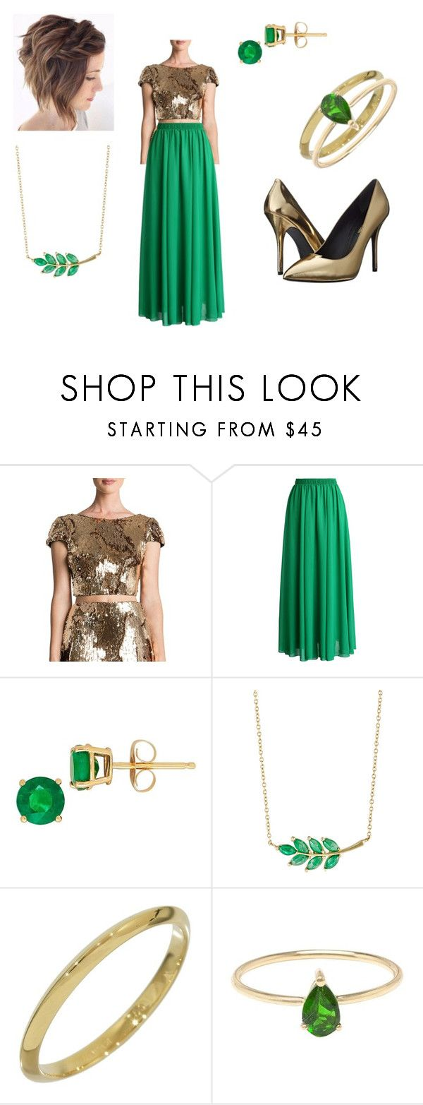 """""""Loki's Wife"""" by madio5995 ❤ liked on Polyvore featuring Dress the Population, Chicwish, Lord & Taylor, Finn, Tiffany & Co., Ileana Makri and Pierre Balmain"""