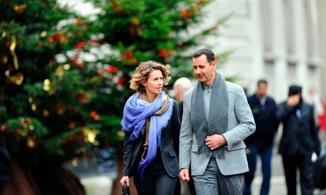 Gilded lifestyle continued for Assad coterie as conflict raged in Syria    Bashar al-Assad appears to have emailed his wife song lyrics and video clips, while she shopped for shoes and chandeliers