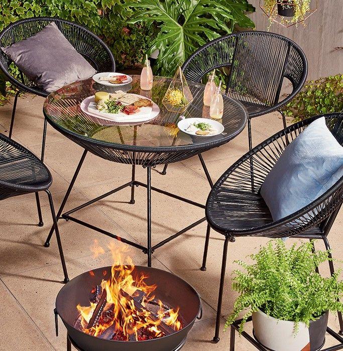 Acapulco Replica Chair - Black | Kmart