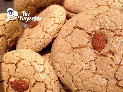 aci badem kurabiyesi tarifi