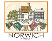 Norwich Travel-Style Poster