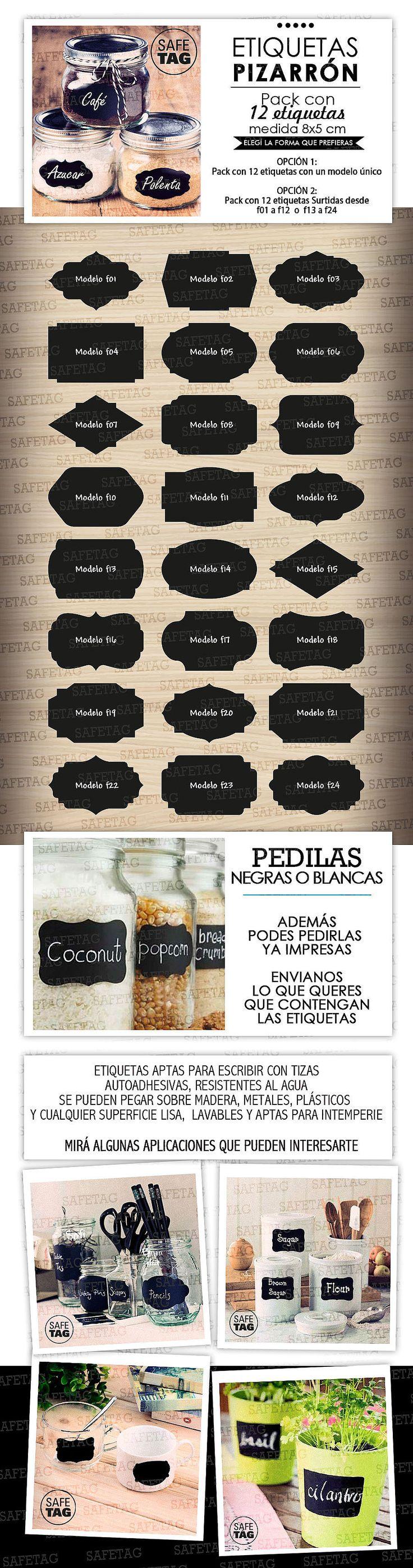 Etiquetas Autoadhesivas Frases Frascos Vasos Botellas X 55 - $ 79,90
