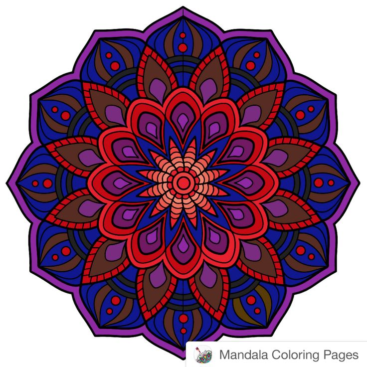 #mandala  Made with Mandala Coloring Pages iOS app: http://hyperurl.co/MandalaColoringPages