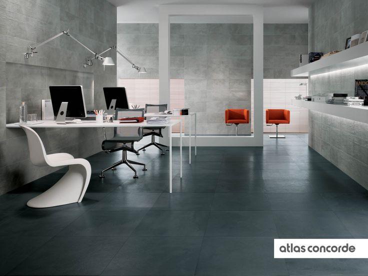 #EVOLVE iron and silver | #AtlasConcorde | #Tiles | #Ceramic | #PorcelainTiles