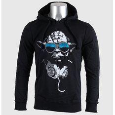 mikina pánská STAR WARS - DJ Yoda Cool - Noir - LEGEND, STAR WARS