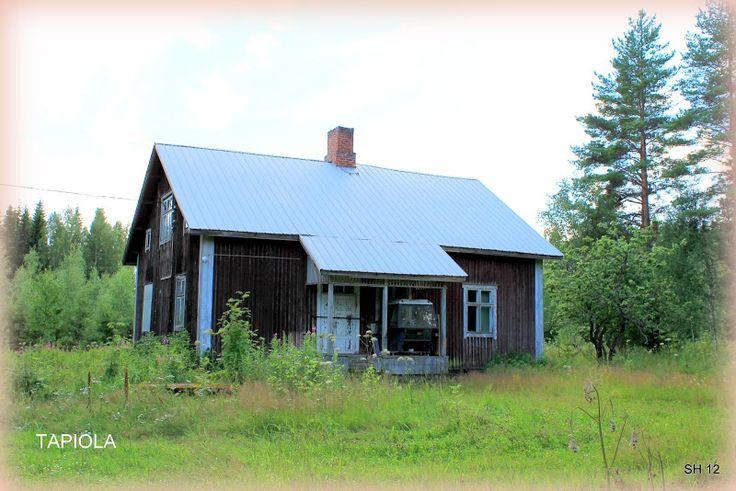 ÄHTÄRIN MAISEMIA - Tapiolan talo on ollut tyhjillään jo kauan.
