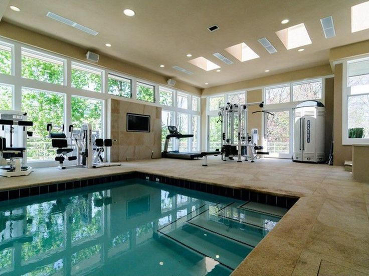 100+ Amazing Small Indoor Swimming Pool Design Ideas Part 50