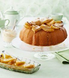 White Chocolate Pina Colda Cake -