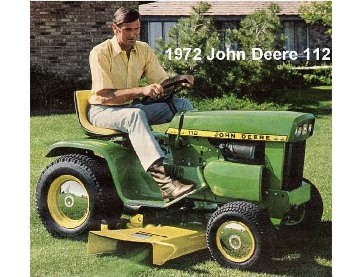 17 best ideas about John Deere Garden Tractors on Pinterest