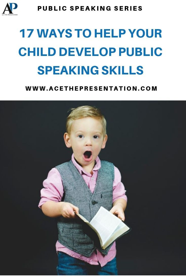 Here's 17 ways you can help your child speak in front of others. Learn this key public speaking tips for kids that can b…