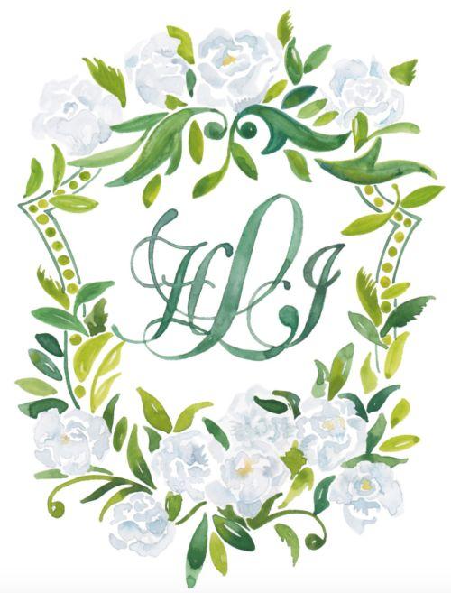 WEDDING WEDNESDAY: WATERCOLOR INVITATIONS BY KEARSLEY LLOYD - Design Darling