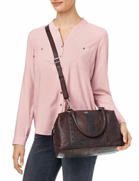 Elegante Handtasche Bilbao, dark brown jetzt kaufen | GERRY WEBER