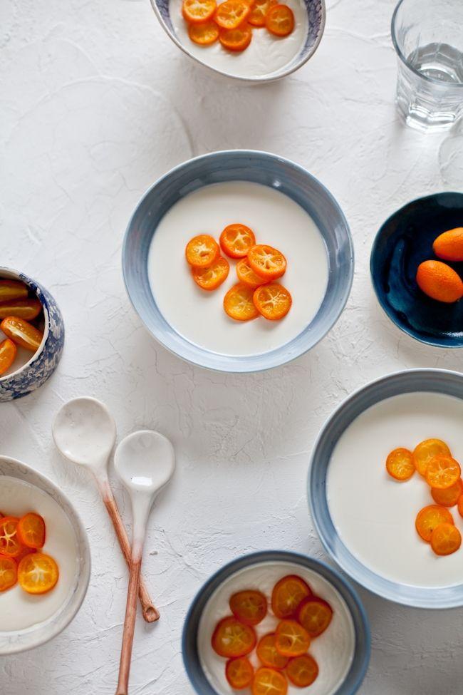Kumquat Panna Cotta