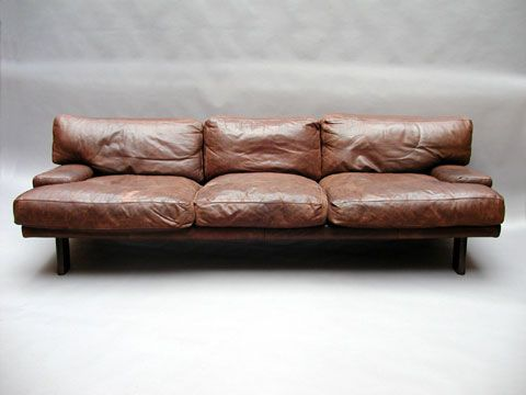 i like leather couches that don't look like obese people