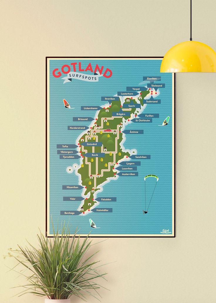 Surfspots Gotland