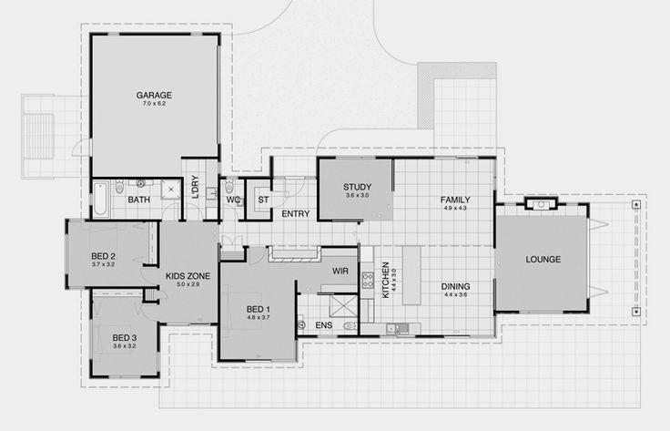 Contemporary House Plan 11